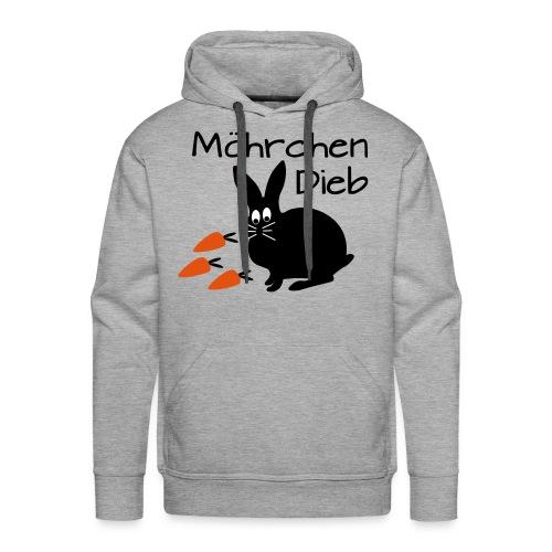 Möhrchen Dieb! - Männer Premium Hoodie