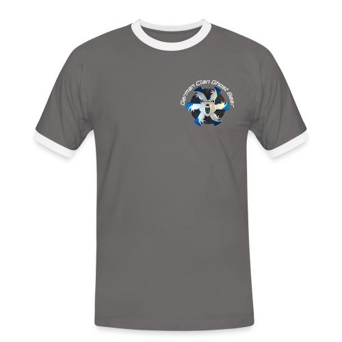 GCGB Beispiel Shirt 1 (Single-Logo) - Männer Kontrast-T-Shirt