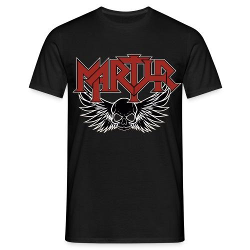 MARTYR Logo & Skull T Shirt - Mannen T-shirt