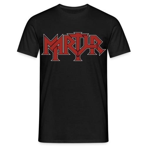 MARTYR Logo T Shirt - Mannen T-shirt