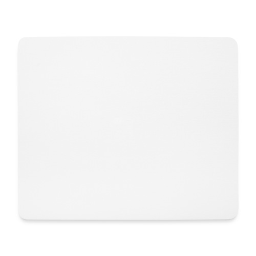 Mousepad white - Mousepad (Querformat)