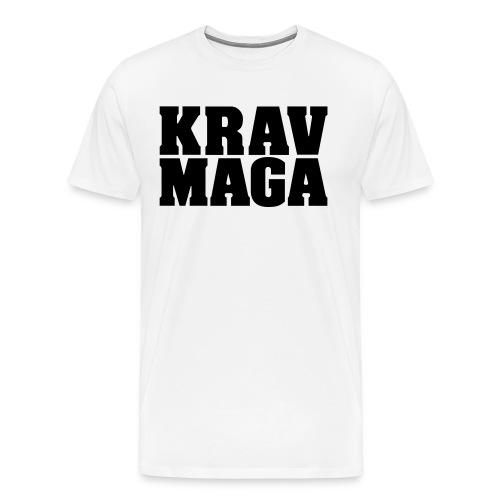 Krav Maga - Premium-T-shirt herr