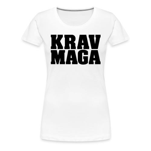 Krav Maga Dam - Premium-T-shirt dam