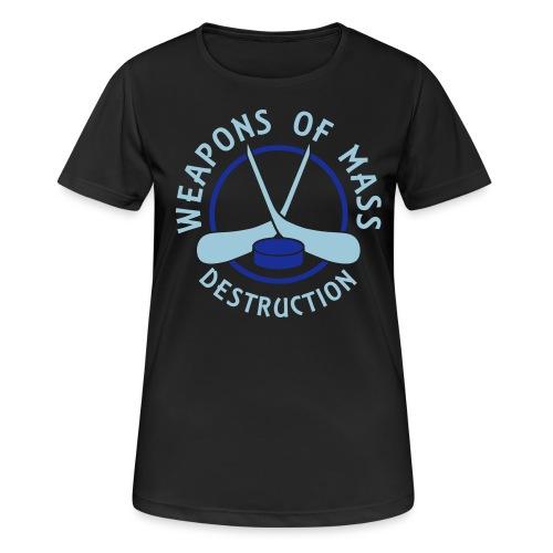 Hockey Weapons of Mass Destruction Women's Breathable T-Shirt - Women's Breathable T-Shirt