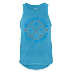 Inflict Pain Play Hockey Vest Top - Men's Breathable Tank Top