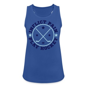 Inflict Pain Play Hockey Women's Vest Top - Women's Breathable Tank Top