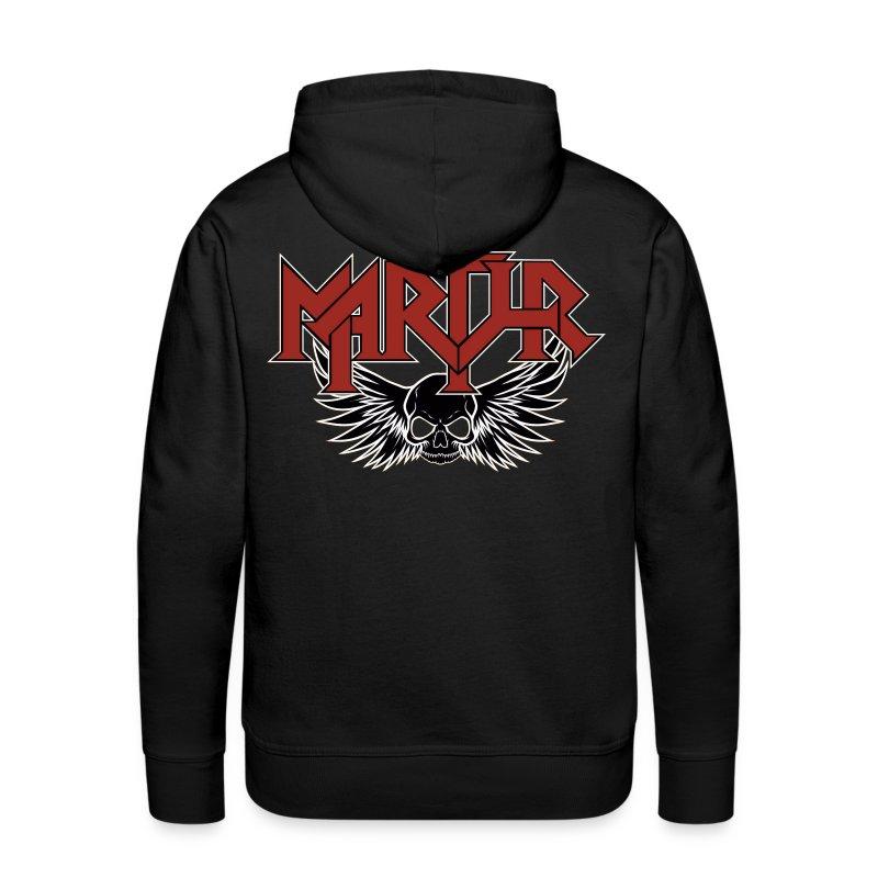 MARTYR Logo & Skull Sweatshirt / Hoodie - Mannen Premium hoodie