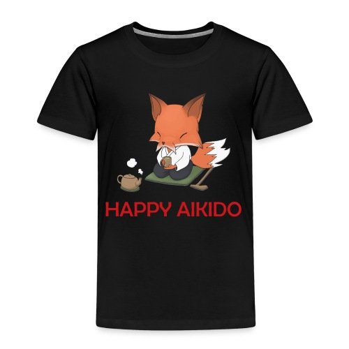 Happy Aikido - Sensei Children's T  - Kids' Premium T-Shirt