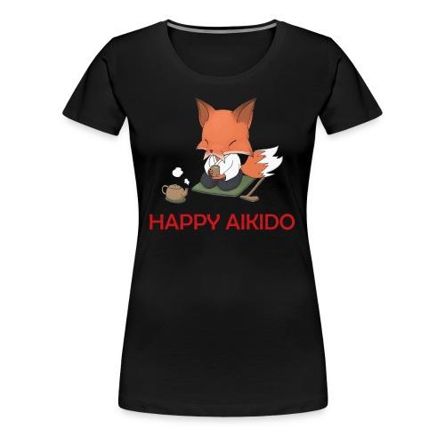 Happy Aikido - Sensei Women's T  - Women's Premium T-Shirt