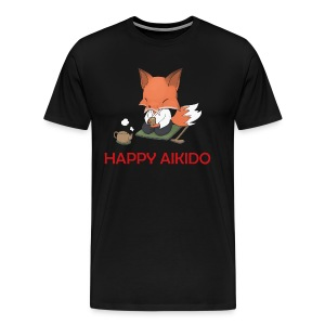 Happy Aikido - Sensei Men's T  - Men's Premium T-Shirt