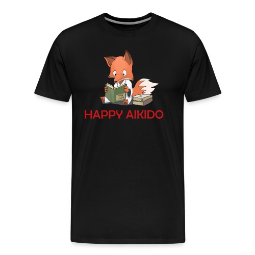 Happy Aikido - Kouhai Men's T  - Men's Premium T-Shirt