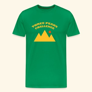 Three Peaks Challenge - Men's Premium T-Shirt