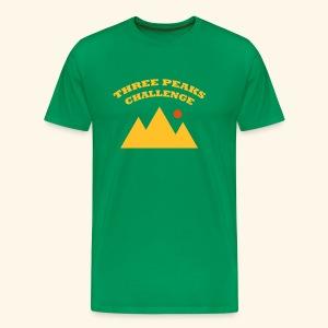 Three Peaks Challenge - Men's Premium T-Shirt