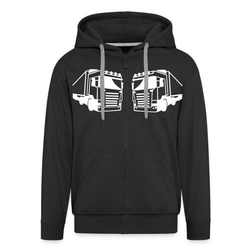 18 Wheels Fan Site Sweatshirt - Premium-Luvjacka herr
