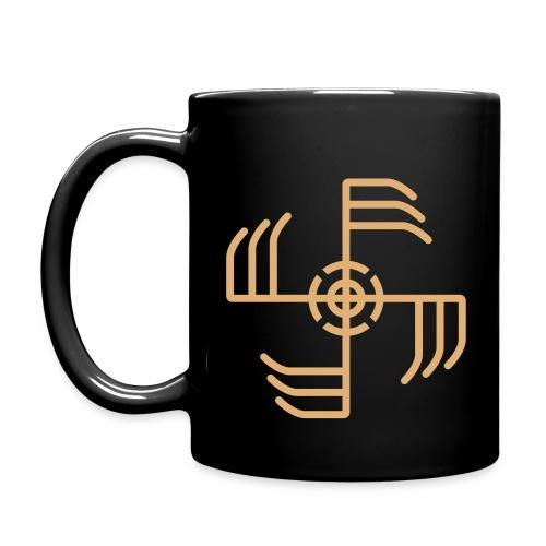 Ginfaxi-Rune Kaffeebecher - Tasse einfarbig