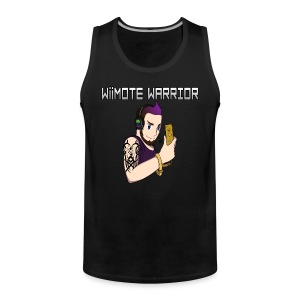 Wiimote Warrior Tank Top - Men's Premium Tank Top