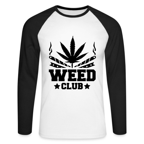 Weed Club - T-shirt baseball manches longues Homme