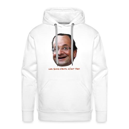 Les sans-dents - Sweat-shirt à capuche Premium pour hommes