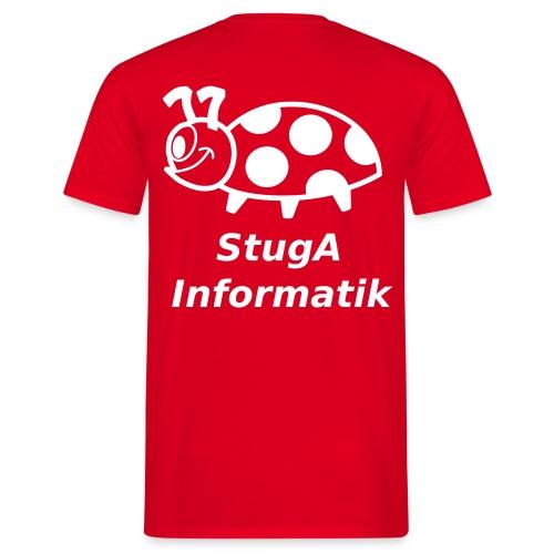 StugA Informatik T-Shirt mit Name - Männer T-Shirt