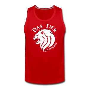 Red & White - Männer Premium Tank Top