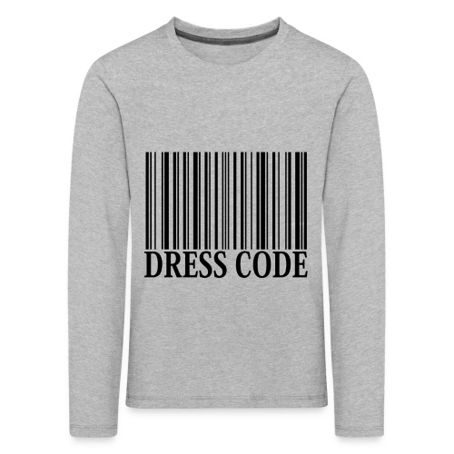 Dress Code Kids Longsleeve - Kinderen Premium shirt met lange mouwen