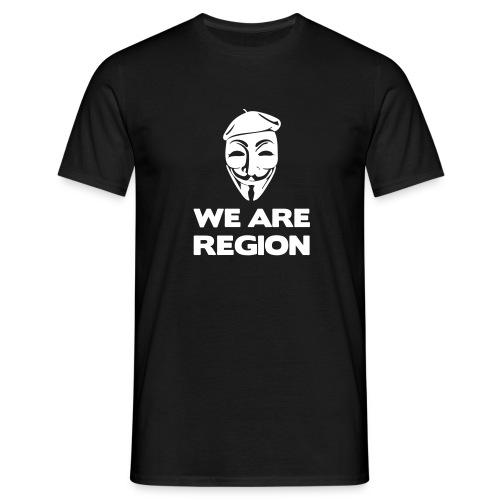 Tee-Shirt We Are Region - T-shirt Homme