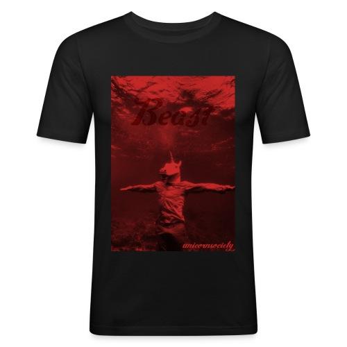 BEAST - Männer Slim Fit T-Shirt