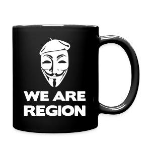 Mug We Are Region - Tasse en couleur