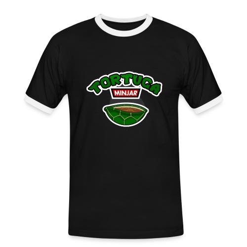 Camiseta bi Tortuga Minjar - T-shirt contrasté Homme