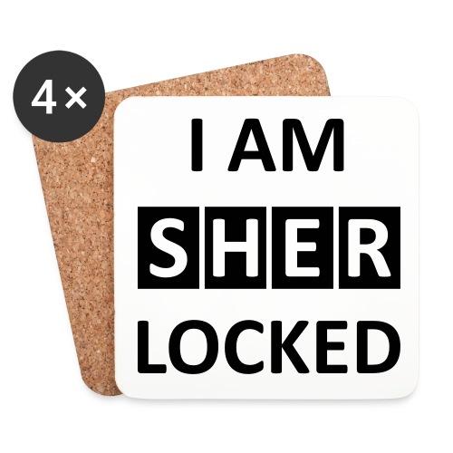 I AM SHERLOCKED - Untersetzer (4er-Set)