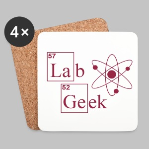 Sous-verre (coaster) Atom Lab Geek - Coasters (set of 4)