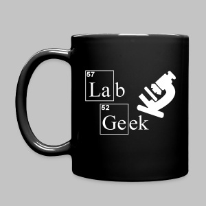 Mug Microscopy Lab Geek - Full Colour Mug