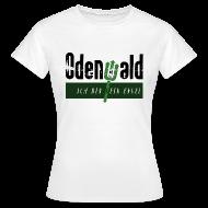 T-Shirts ~ Frauen T-Shirt ~ Odenwald - kein Engel