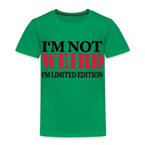 Limited Edition - Premium T-skjorte for barn
