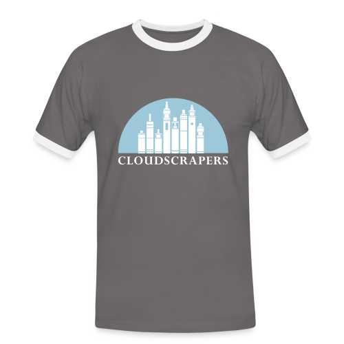 CLOUD SCRAPERS - T-shirt contrasté Homme