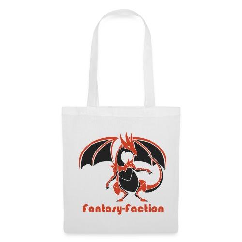 Fantasy-Faction White Shopping Bag - Tote Bag