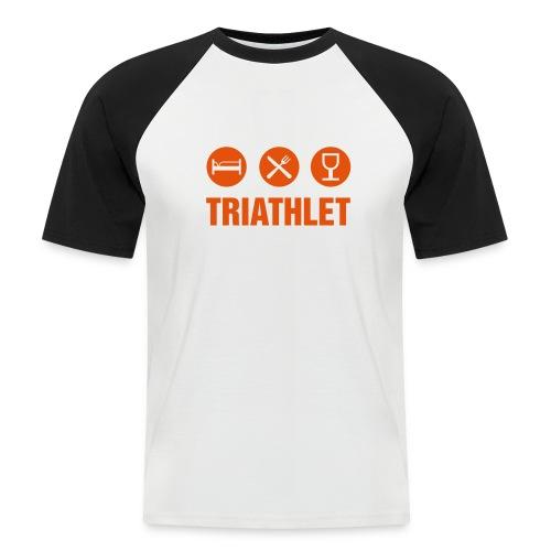 cornell_triathlet - Männer Baseball-T-Shirt