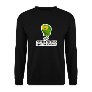 Sweat-Shirt Save the Kakapo - Sweat-shirt Homme