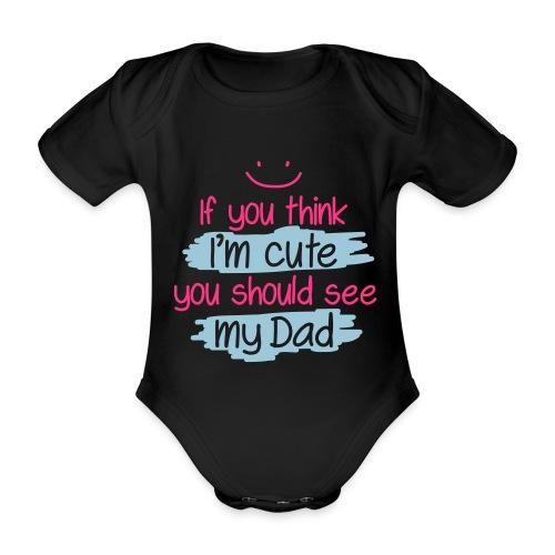 Cute Rompertje - Baby bio-rompertje met korte mouwen