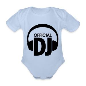 Official DJ Rompertje - Baby bio-rompertje met korte mouwen