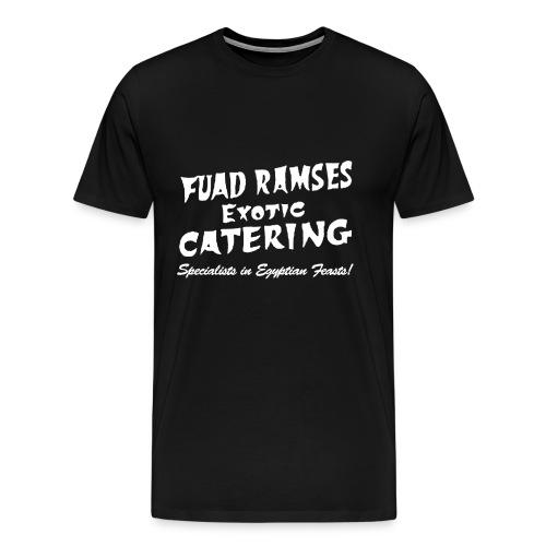 Fuad Ramses Exotic Catering - Men's Premium T-Shirt