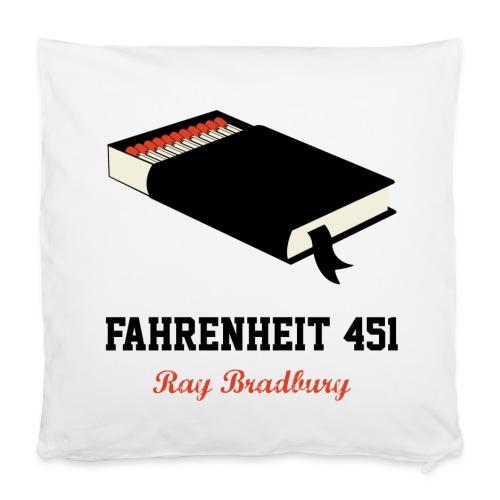 Fahrenheit 451 | Cojín distópico - Funda de almohada 40 x 40 cm