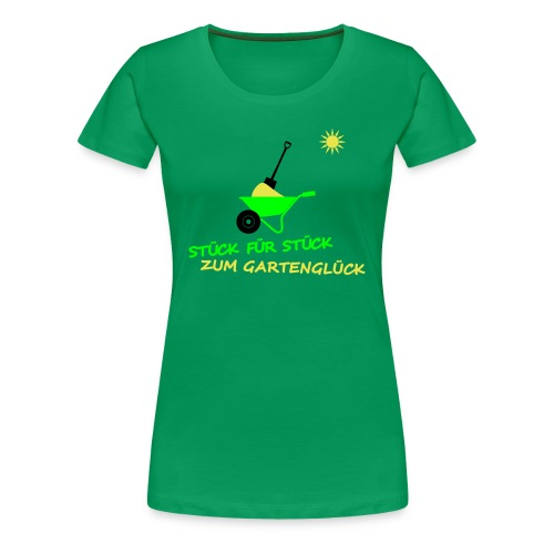 Grünes Shirt... - Frauen Premium T-Shirt