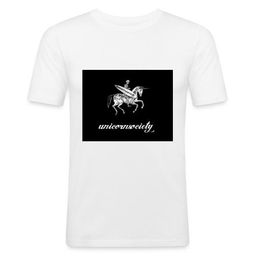 MIC-HELL #HELLRIDER - Männer Slim Fit T-Shirt