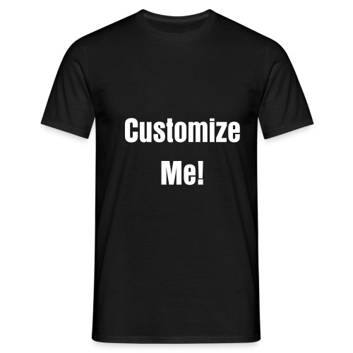 Custom Text Tee - Men's T-Shirt