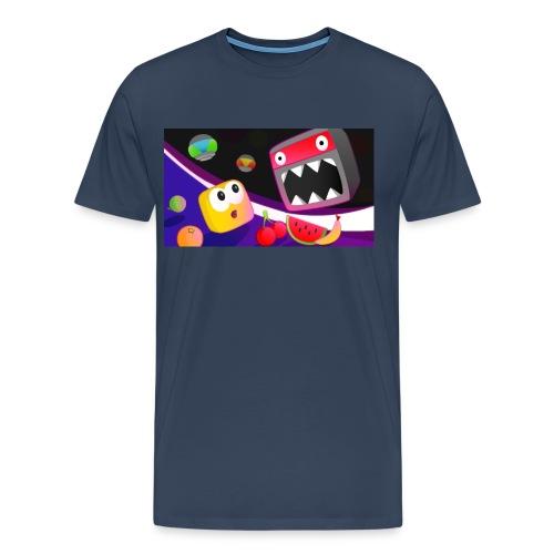 Don't Die Mr Robot Tee Grey - Men's Premium T-Shirt