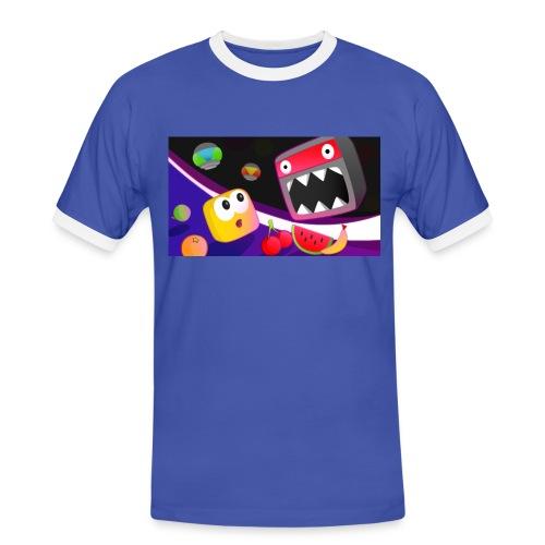 Don't Die Mr Robot Retro Tee - Men's Ringer Shirt