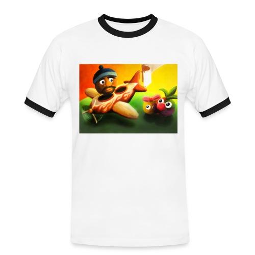 Frutorious FIG Ringer Tee - Men's Ringer Shirt