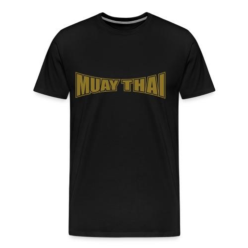 muay thai gold - T-shirt Premium Homme