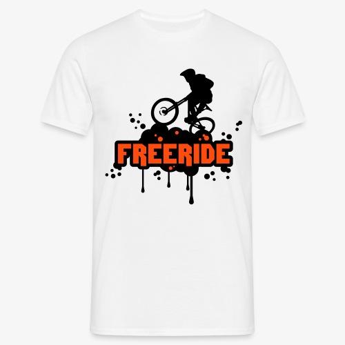 Camiseta con bicicleta 'Freeride'-Camiseta hombre - Camiseta hombre